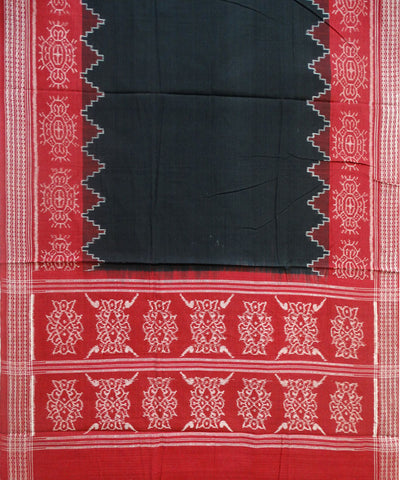 Beautiful Traditional Maroon And Black Shankh And Jhoti Ikat tie And dye Cotton Dress Material