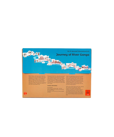 Colouring Kit Learning Activity about Rivers Of India (River Ganga)