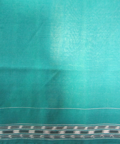 Traditional Green Cotton Saree