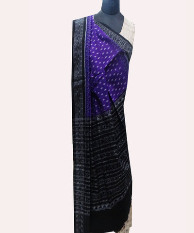 Electric Violet Cotton Dupatta