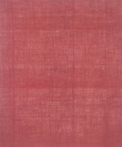 Ruby Red Handloom Cotton Natural Dye Plain Fabric
