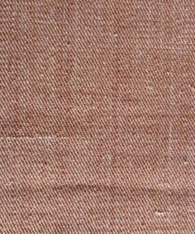 chocolate brown denim cotton handwoven trouser jacket Thick Material