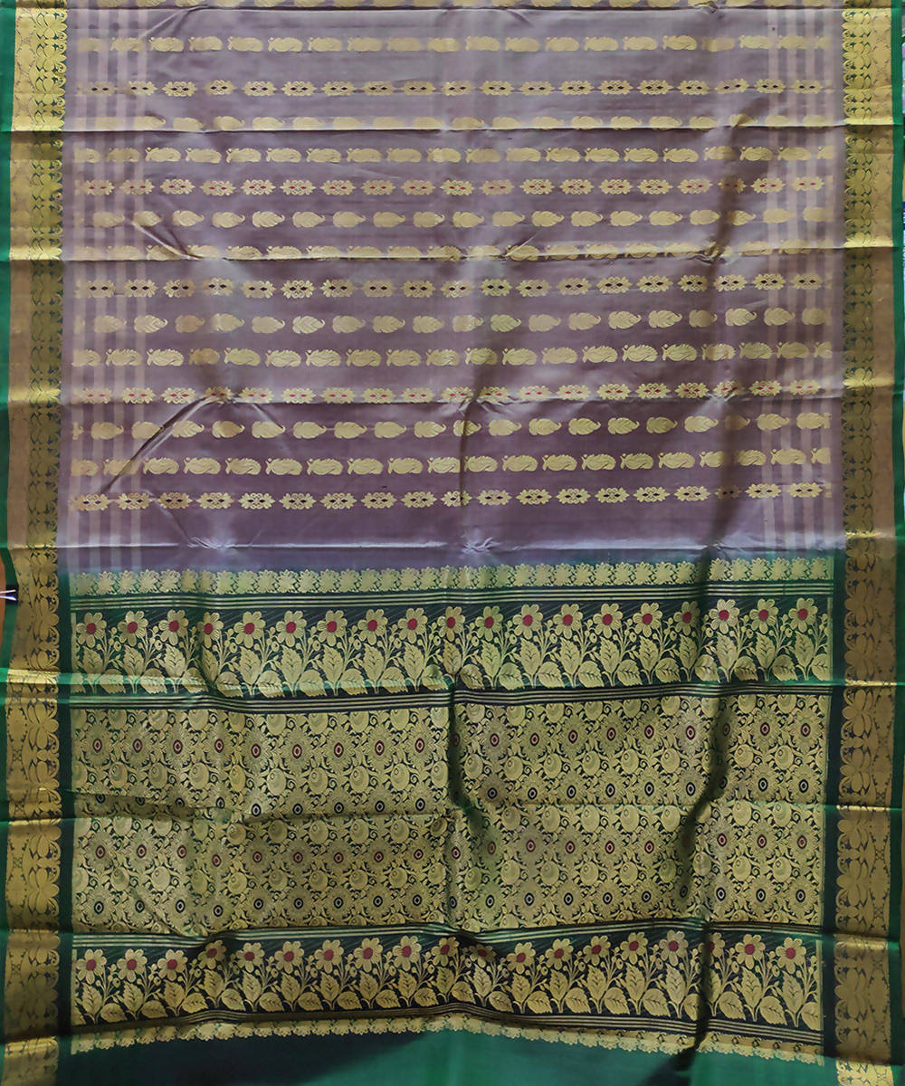 multicolor handloom venkatagiri silk saree
