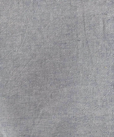 grey white yarn dyed handspun handwoven cotton fabric (10m per quantity)