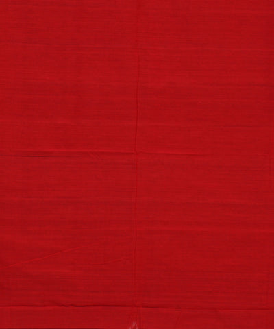 Pochampally Handloom Black and Red Saree