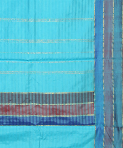 Sky Blue Handloom Arani Silk Saree