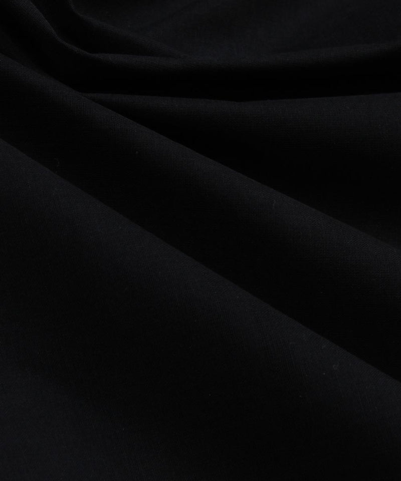 black handloom cotton fabric