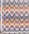 Multicolour Pochampally Ikat Cotton Fabric