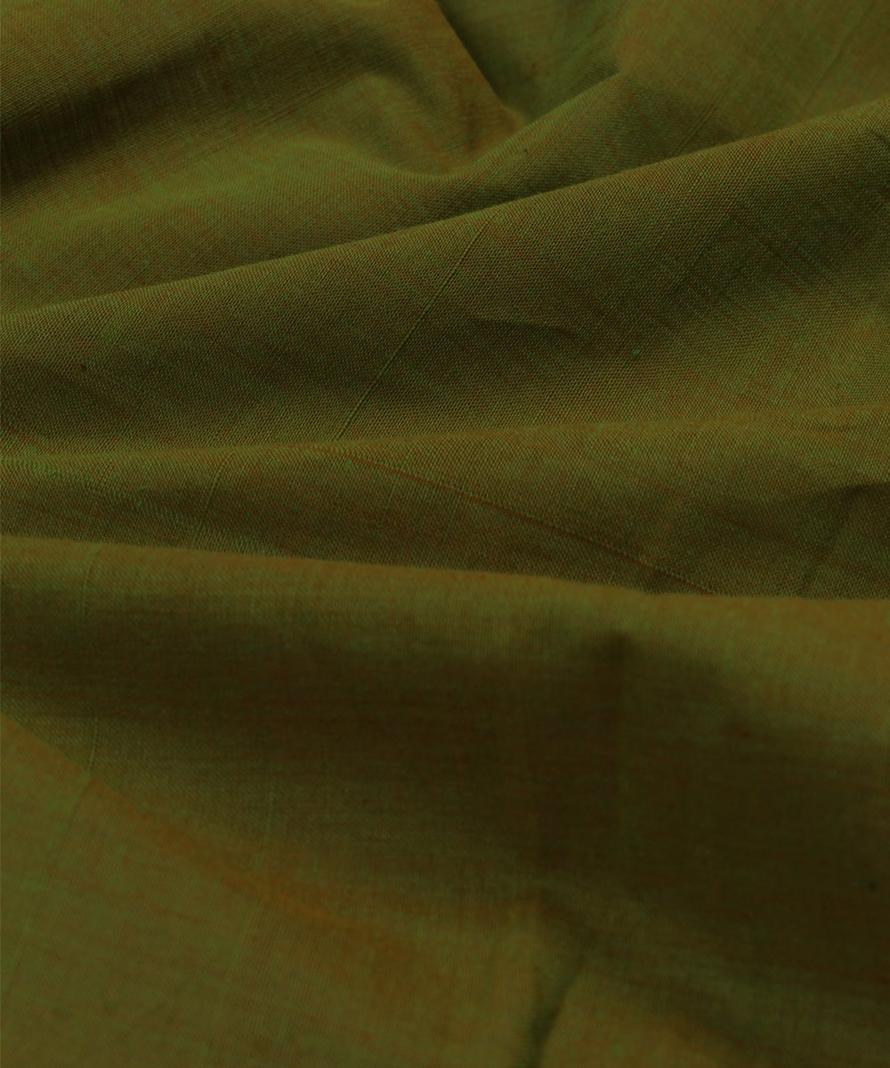pear green mangalagiri handloom cotton fabric