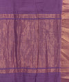 Mangalgiri Purple Handloom Cotton Saree