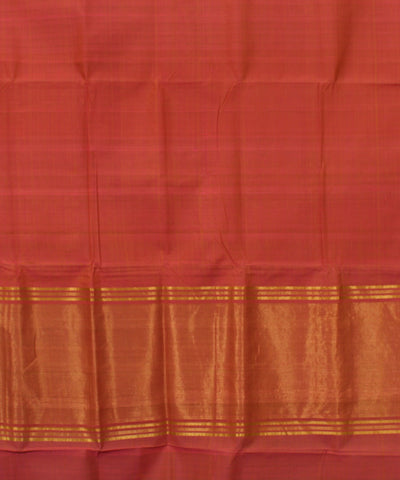 Rose Pink Mangalgiri Handloom Cotton Saree