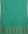 Mangalgiri Sea Green Handloom Cotton Saree