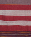 Patteda Anchu Wine Checks Handwoven Saree