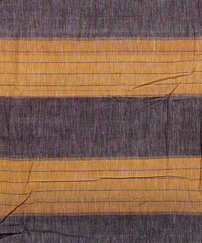Hubli Handloom Peach Cotton Saree