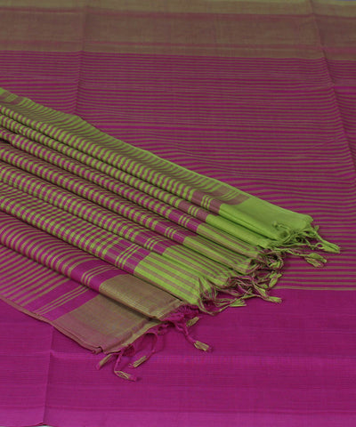 Mangalgiri Handloom Magenta Cotton Saree