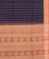 Purple Orange Sambalpuri Ikat Handwoven Saree