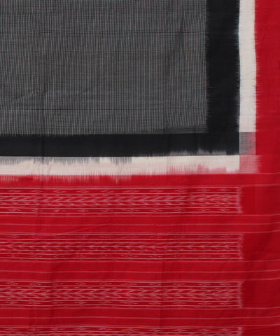 Pochampally Ikat Handloom Checks Cotton Saree