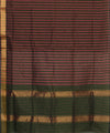 Venkatgiri Striped Handloom Cotton Saree