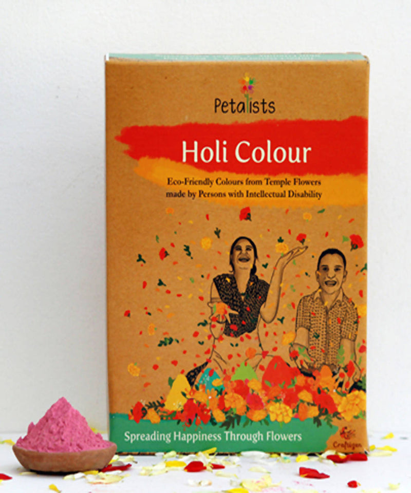 Petalists eco friendly holi colour pink
