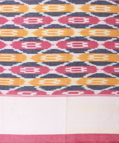 Handloom Ikat Single Cot Bed Sheet