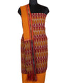 Handwoven Multi Color Ikat Cotton Suit