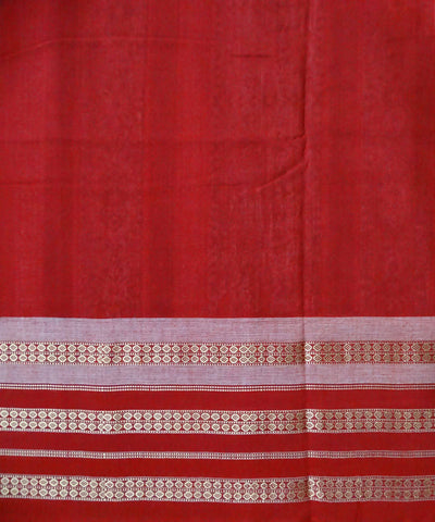 Black Cotton Bomkai Handloom Saree