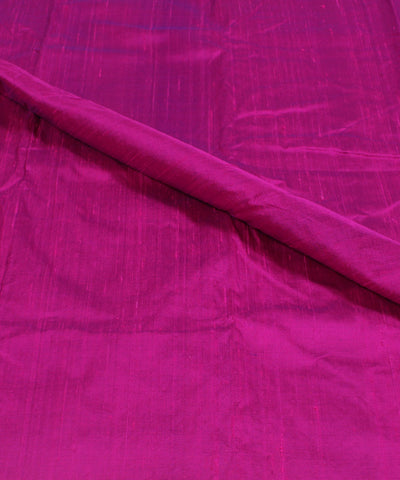 Khadi Purple Raw Silk Fabric