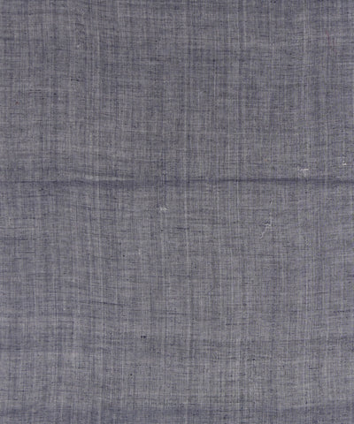Handloom Black Khadi Cotton Fabric