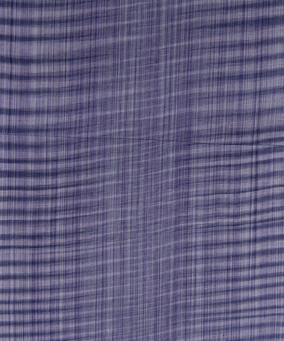 Handloom Cotton Blue Stripe Fabric