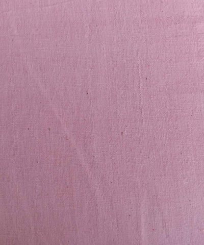 natural dye light pink handspun handwoven Cotton kurta fabric