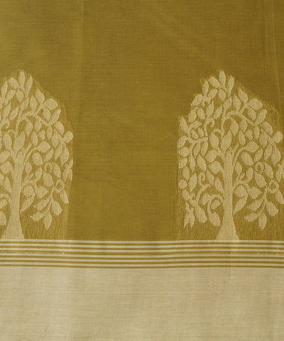 Salem Handloom Cotton Saree in Brown Shade