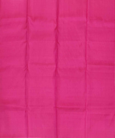 off White pink Handloom Soft Silk Saree