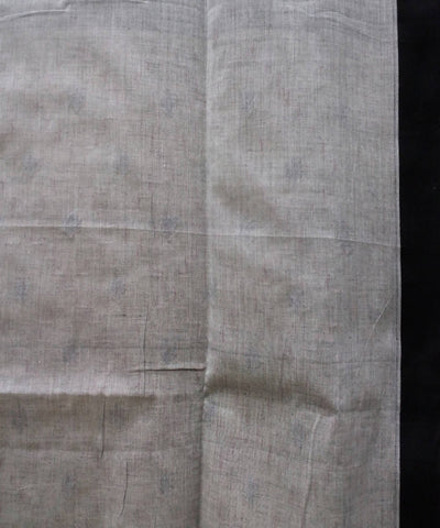 Bengal handspun cotton handloom beige saree