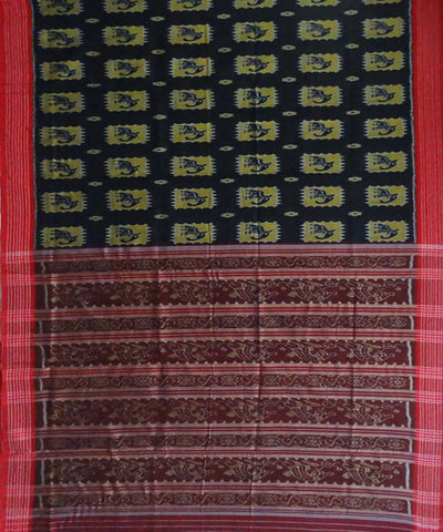 Black Nuapatna cotton Handloom Saree