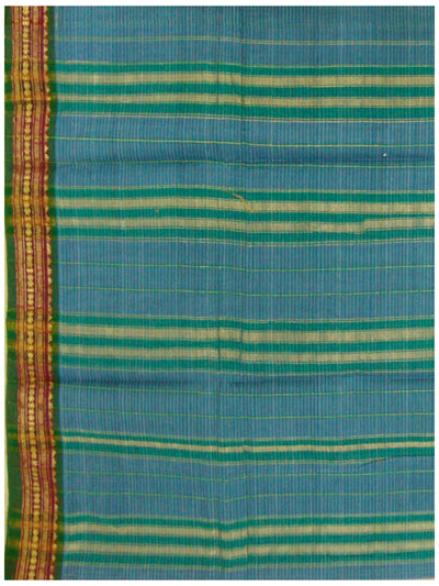 Narayanapet Cotton Saree Blue Colour