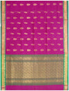 Madhavaram Cotton saree Crimson Shade