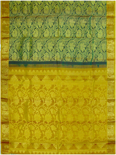 Dharmavaram pure silk wedding saree