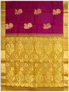 Dharmavaram Pure silk saree Purple