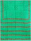 Printed silk saree Light Ananada Green Shade