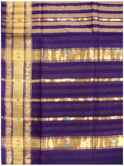 Rajahmundry Cotton saree Dark Purple Shade