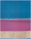 Mangalagiri Cotton saree Blue Shade