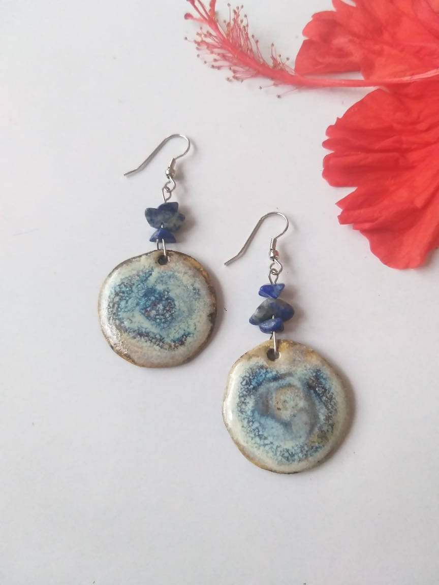 Blue Ocean Ceramic Dangler