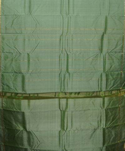 Pista Green Handwoven Arni Silk Saree