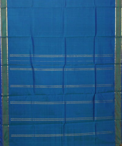 Blue Handwoven Arni Silk Saree