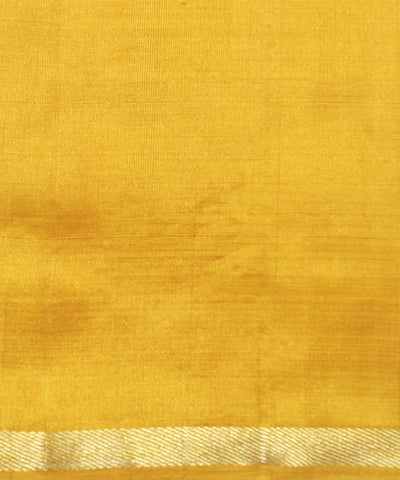 Golden Yellow Handloom Arni Silk Saree