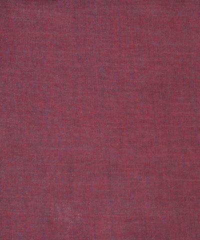 Handloom Red & Blue Cotton Khadi Fabric