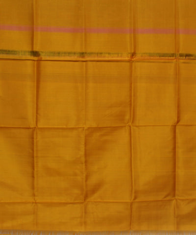 Handwoven Double Shaded Silk Saree