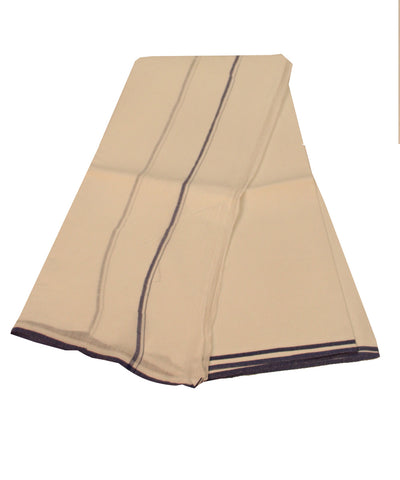 Khadi Nation Handwoven Cotton Double Dhoti (KHADI-DH-05)