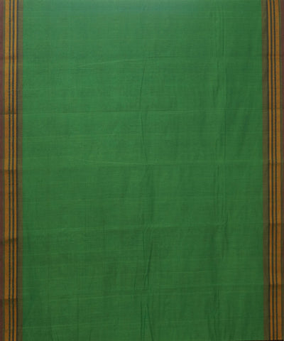 Green Tie Dye Handloom Kanchi Cotton Saree