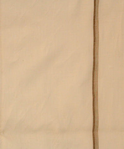 Khadi Nation Handwoven Cotton Double Dhoti (KHADI-DH-04)